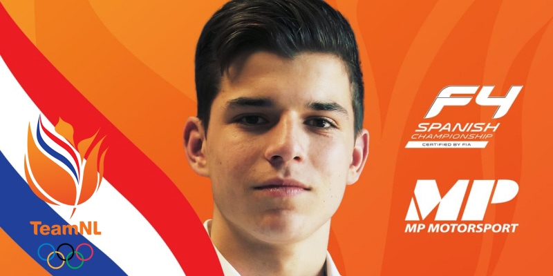 KNAF Talent Programme Driver Glenn van Berlo to make Formula 4 debut with MP Motorsport