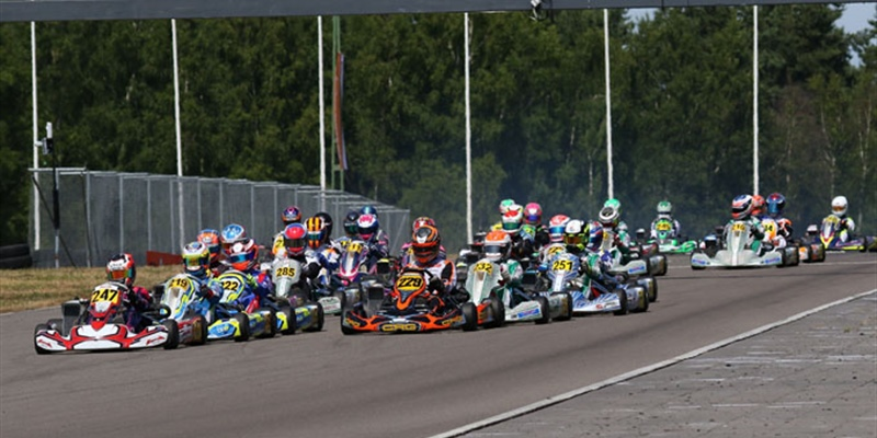 EXCITING HALF-TIME OF THE ROTAX MAX CHALLENGE EURO TROPHY