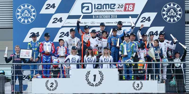 A fantastic show at Le Mans and another bet won by IAME