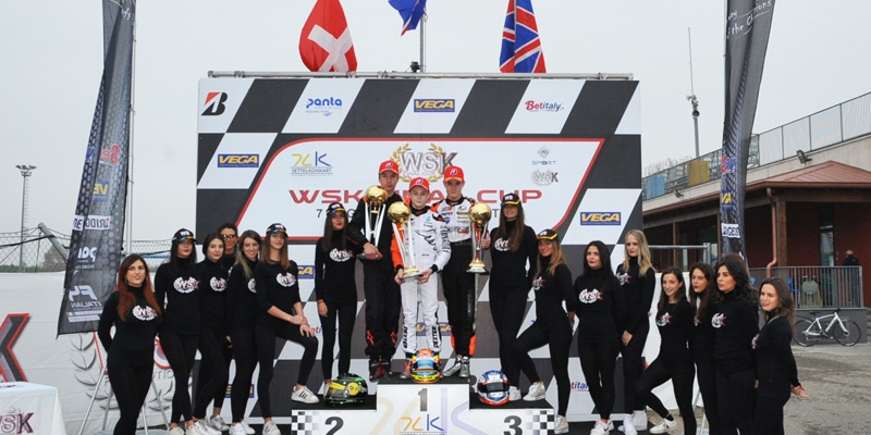 Final races at the WSK Final Cup in Castelletto (I)