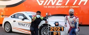 Robert de Haan and Maurice Henry win 2021 Ginetta Junior Scholarship