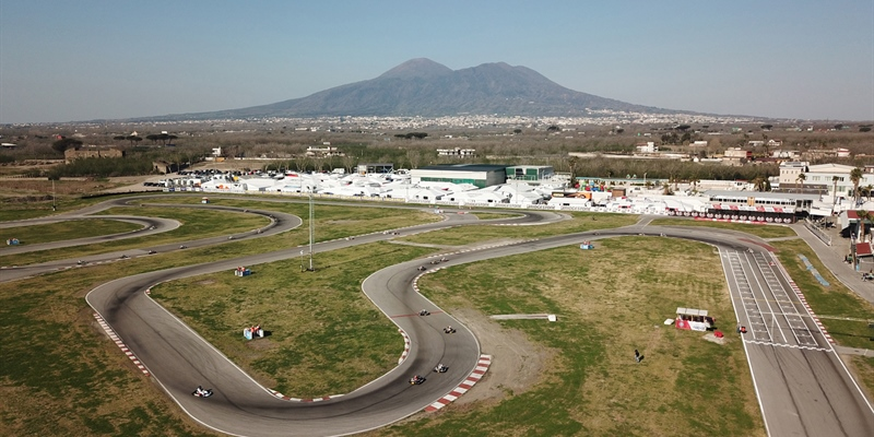 Final weekend of the WSK Super Master Series in Sarno (I)