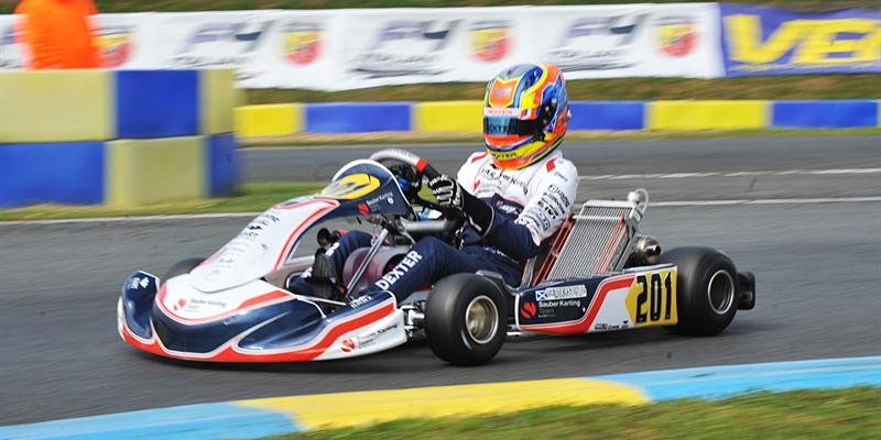Green lights in Angerville on the new WSK challenge