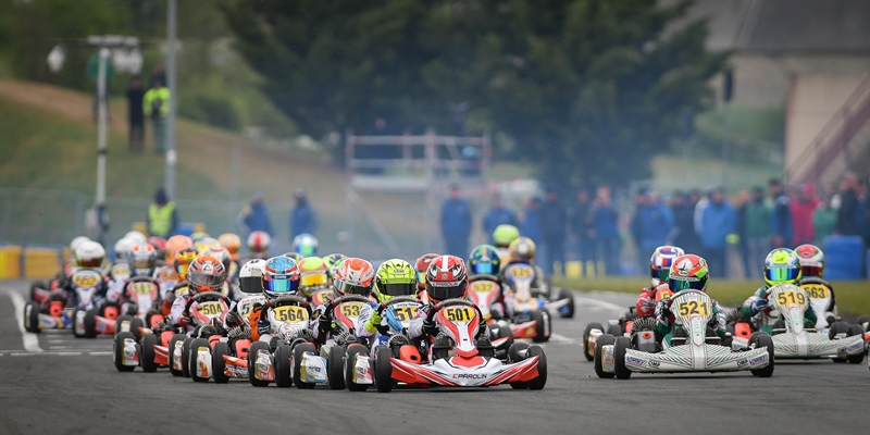 Al Dhaheri returns to WSK Euro Series with 2nd at Angerville