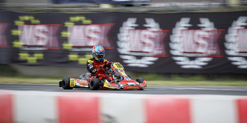 Good race for Dante and Maranello Kart  at the WSK Euro Series in Lonato