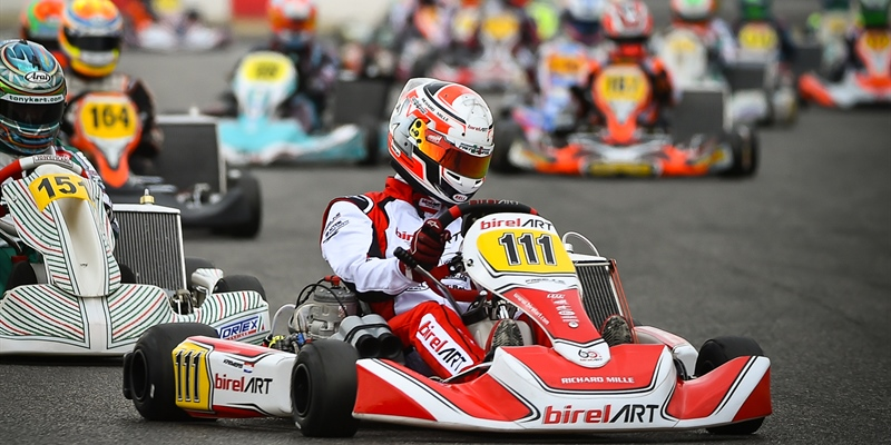 Kremers close to victory at Lonato