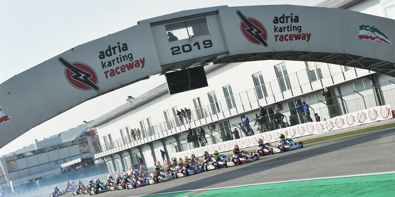 WSK Super Master Series Round 1 at Adria (I) live-timing and results