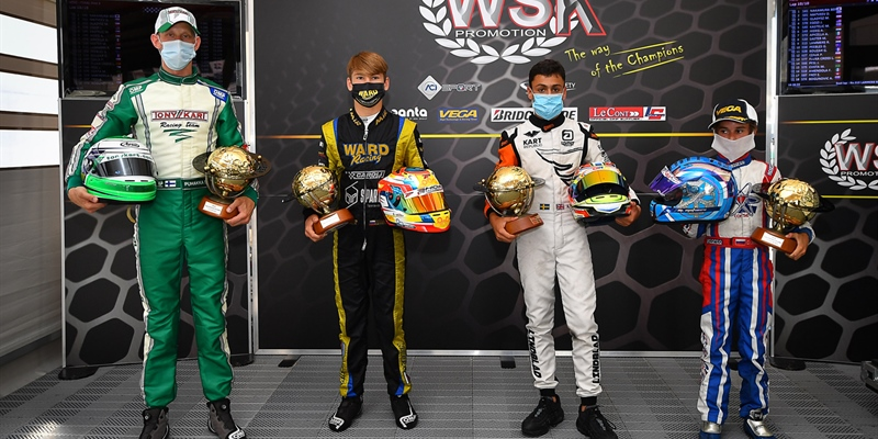 The champions of WSK Super Master Series 2020