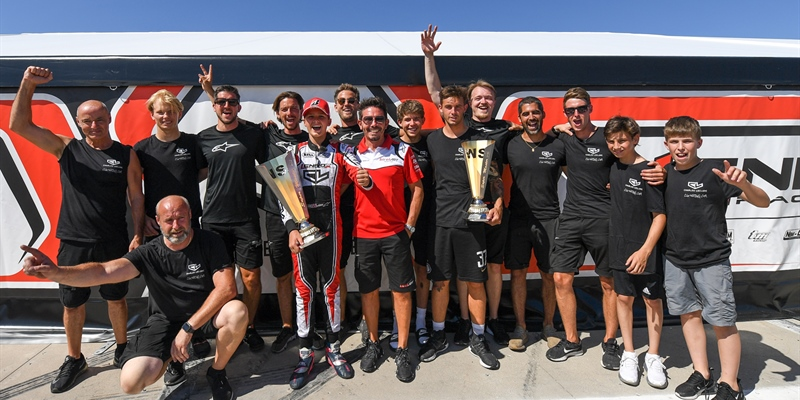 First podium finishes of the season for the Leclerc by Lennox Racing Team
