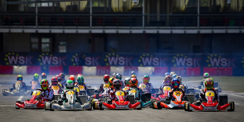 Good finals in Sarno at the opener of WSK Euro Series