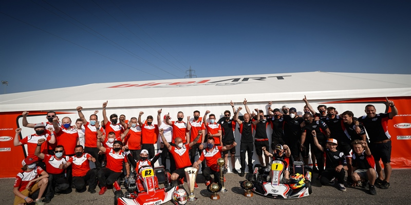 Birel ART wins the WSK Super Master Series with Kremers