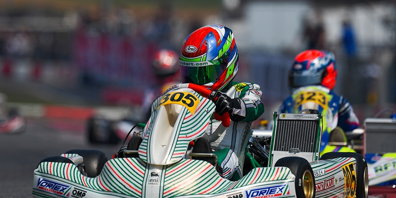 "Tony Kart's ""Master Series"" ends with a podium"