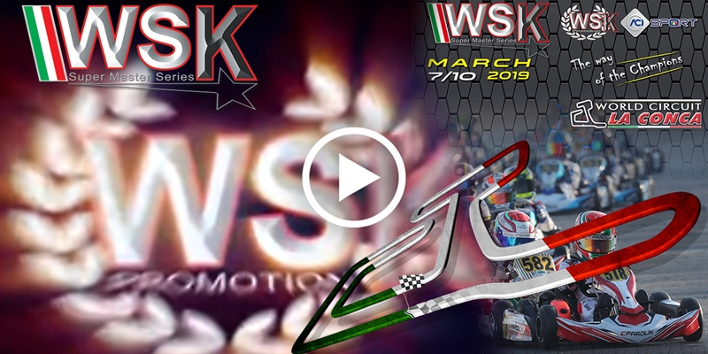 WSK Super Master Series, rd. 3: the Video Gallery from La Conca