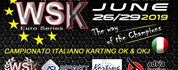 Livestream of the WSK Euro Series Night Event at the Adria Karting Raceway