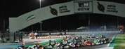 Final races at the 4th round - Night Event of the WSK Euro Series in Adria (I)