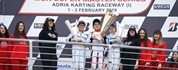 Al Dhaheri wins 60 Mini in the challenging WSK Super Master at Adria