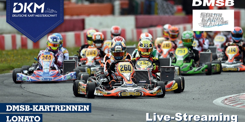 Live-stream: DKM first races on the South Garda Circuit in Lonato