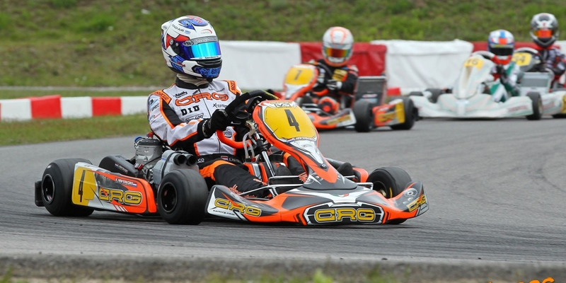 Kas Haverkort stays optimistic after a challenging weekend at the DKM in Germany