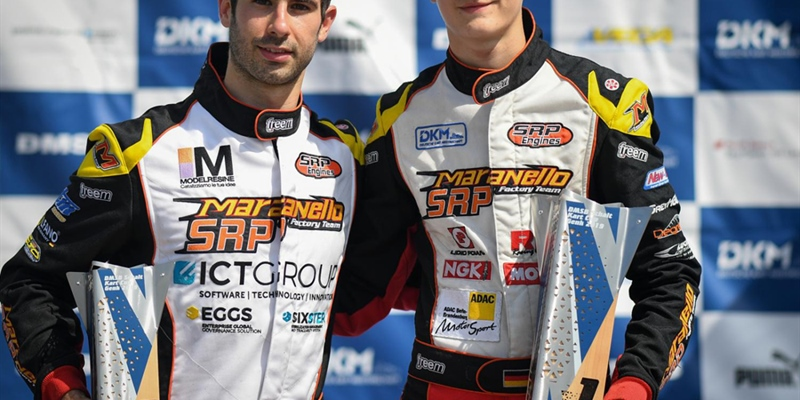 An incident stopped Federer run in DKM's KZ2 at Genk. Trefilovs dominant in KZ2 Cup, Bernardotto...