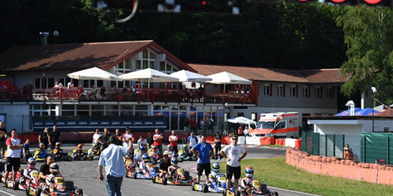 German Kart Championship final in Ampfing