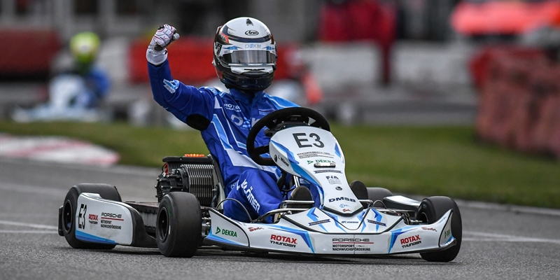 Luka Wlömer and Jasin Ferati share DEKM-Victories in Ampfing