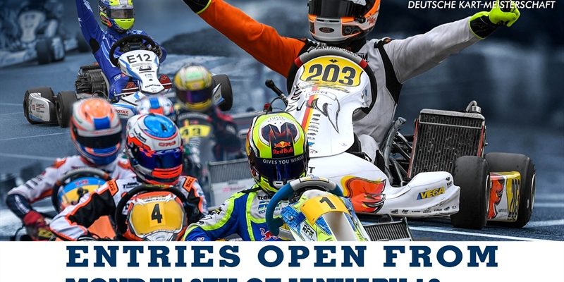 Register now online for the DKM - Five races spread over Germany and Genk