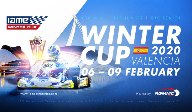 Entries open tomorrow for the 2020 RGMMC IAME Winter Cup