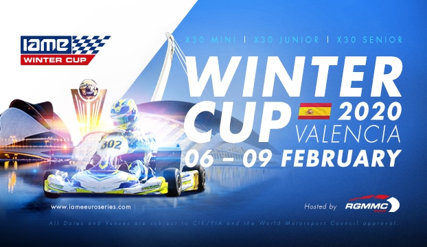 Sunday livestream of the IAME Winter Cup in Valencia