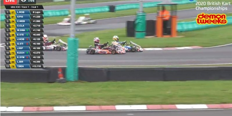 Livestream: British Kart Championship Finals at PFi Karting track