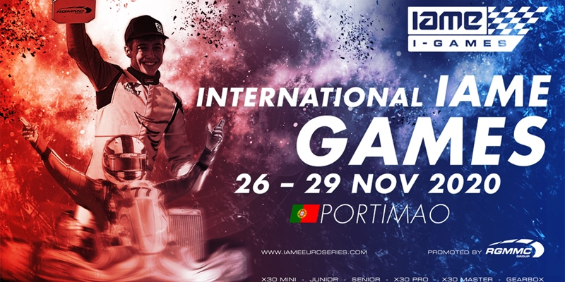 Information regarding the International IAME Games – Portimão, Portugal