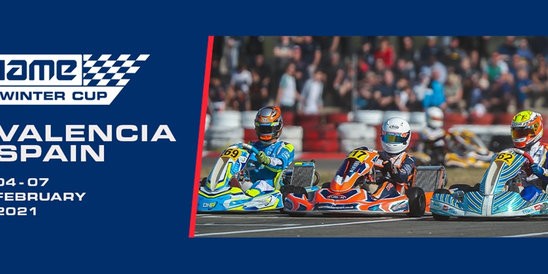 2021 IAME Winter Cup Important Information