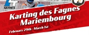 TILLOTSON T4 Series Netherlands: official KNAF NK starts at Karting des Fagnes in Mariembourg,...