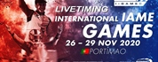 Livetiming of the International IAME Games