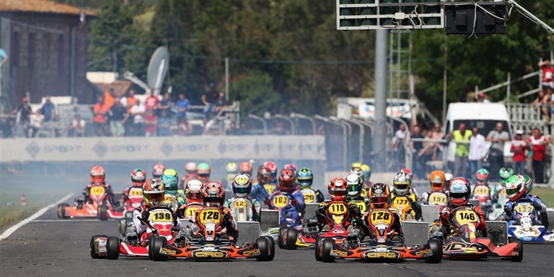 Great show at the second round of the Italian ACI Karting Championship in Siena with a record...