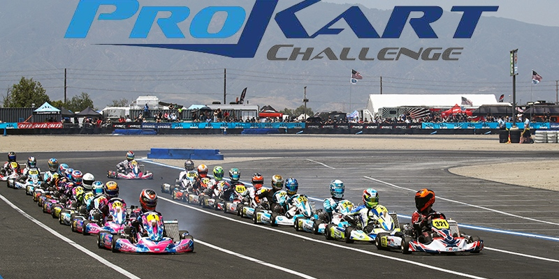 Drivers double dip and set new track records at California Prokart Challenge Weekend in Fontana