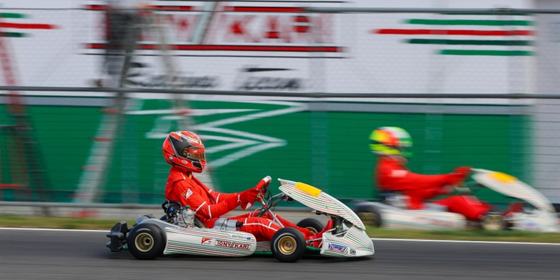Ferrari Driver Academy: Schumacher, Armstrong, Shwartzman and Alesi on track with Tony Kart Racing...