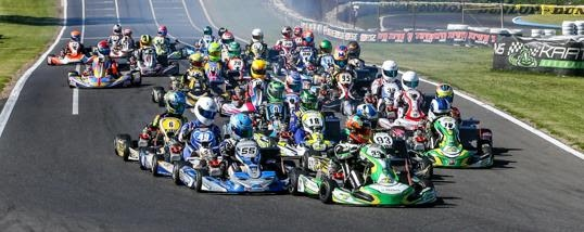 Record numbers for the Australian Kart Championship opener