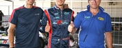The third round of the Italian ACI Karting Championship got underway in Sarno with the first...