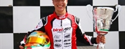 Leonardo Marseglia wins Race 2 of the ACI Karting Italian Championship in Sarno