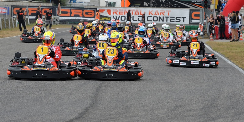 Red Enemy 1 wins the Rental Kart World Contest 2018