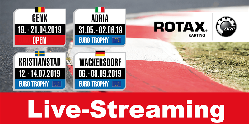 Sunday Live-streaming: Race 1 Rotax MAX Euro Trophy in Adria