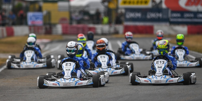 Half-time of the German Electric Kart Championship