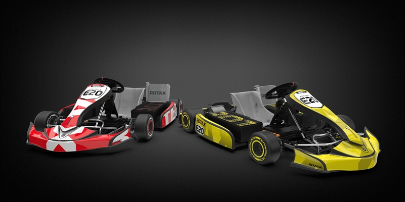 BRP-Rotax reveals new E-kart project E20