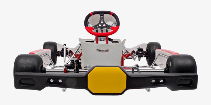 Rotax DD2 Chassis with CIK-FIA Homologated rear bumper for FIA Karting Calender 2020 Events