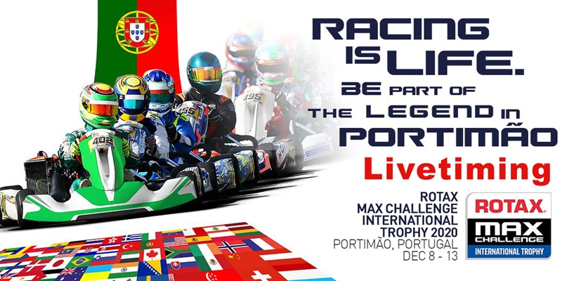 Livetiming: Rotax MAX Challenge International Trophy 2020 at Portimão