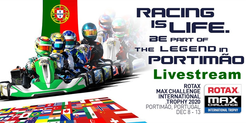Livestream: Rotax MAX Challenge International Trophy 2020 at Portimão
