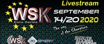 Sunday Livestream WSK Euro Series Round 2 & 3 at the South Garda Karting circuit in Lonato