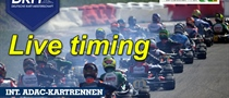Live timing of the German Kart Championship final in Ampfing