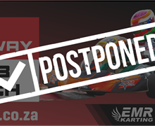 Postponement Rotax Max South Africa round 1 nationals