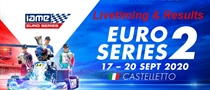 Livetiming: Round 2 of the IAME Euro Series at  Castelletto